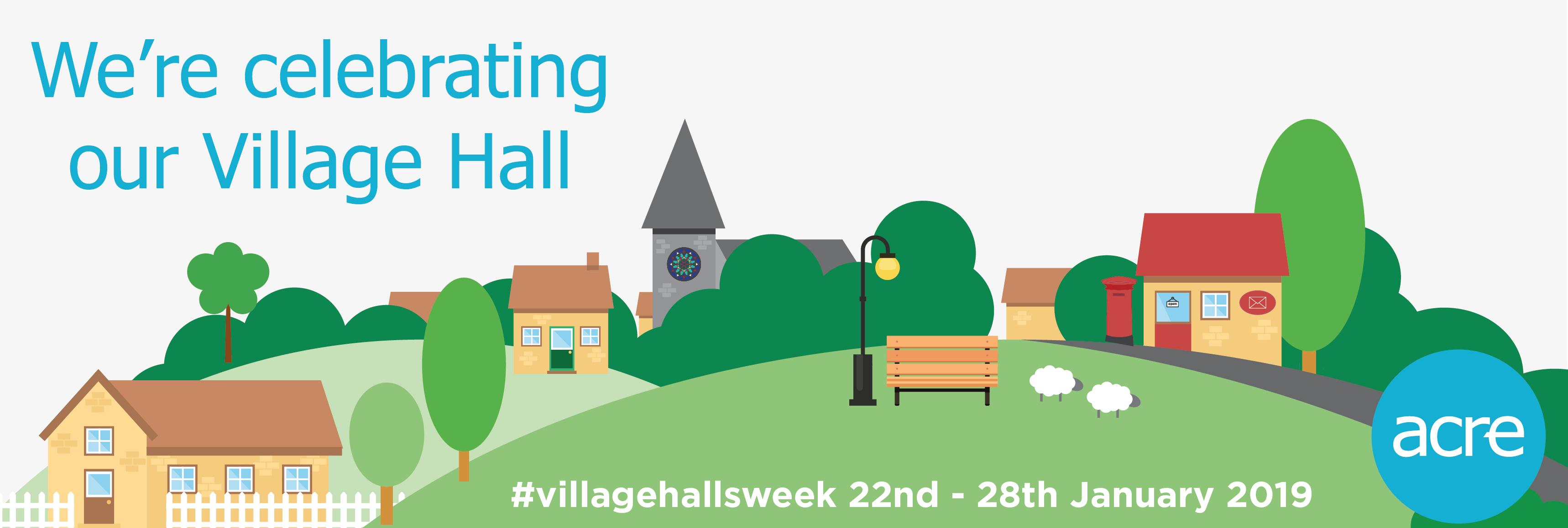 #VillageHallsWeek