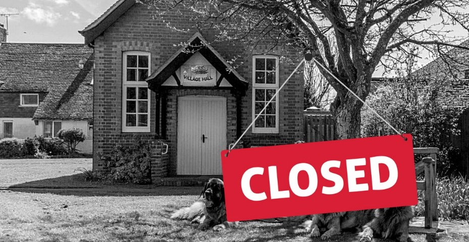 Latest ACRE Guidance Village Halls Lockdown from 5th November